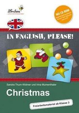 In English, please! Christmas, m. CD-ROM