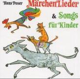 Märchenlieder und Songs für Kinder, 1 Audio-CD