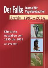 Der Falke, Journal für Vogelbeobachter, Archiv 1995-2014, DVD-ROM