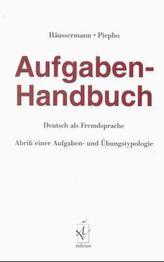 Aufgaben-Handbuch, Deutsch als Fremdsprache