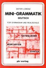 Mini-Grammatik Deutsch