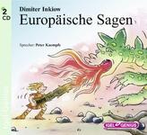 Europäische Sagen, Audio-CD