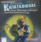 Ein Fall für Kwiatkowski, Die Kaugummiverschwörung, Audio-CD