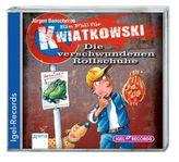 Ein Fall für Kwiatkowski - Die verschwundenen Rollschuhe, 1 Audio-CD