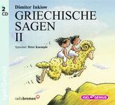 Griechische Sagen, 2 Audio-CDs. Tl.2