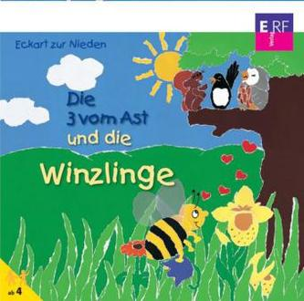 Die Drei vom Ast und die Winzlinge, Audio-CD
