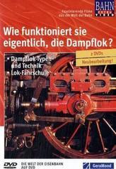 Wie funktioniert sie eigentlich, die Dampflok?, 2 DVDs