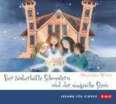 Vier zauberhafte Schwestern und der magische Stein, 2 Audio-CDs