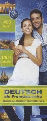 Top 1000 Deutsch als Fremdsprache Niveau A2, Karteikarten m. Lernbox. Tl.2