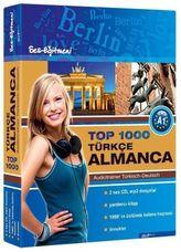 Top 1000 Audiotrainer Türkisch-Deutsch / Türkce-Almanca, 2 Audio/mp3-CDs m. Booklet