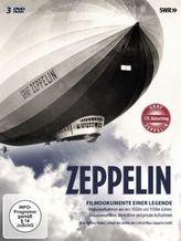 Zeppelin - Filmdokumente einer Legende, 3 DVDs