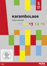 Karambolage, 5 DVDs. Tl.11-15