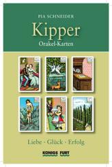 Kipper Orakel-Karten, m. Wahrsagekarten