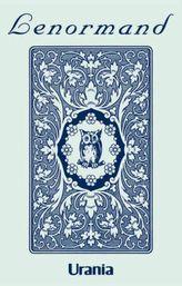 Lenormand, blaue Eule, Wahrsagekarten