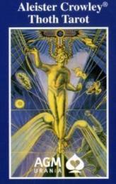 Original Aleister Crowley Toth Tarot, Tarotkarten (Standard)