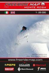 Freeride Map Monte Rosa