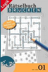 Brücken-Rätselbuch, Auch bekannt als Hashi. Bd.1
