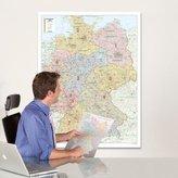Bacher Postleitzahlenkarte Deutschland, Posterlandkarte