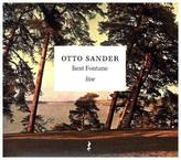Otto Sander liest Fontane, Live, 1 Audio-CD