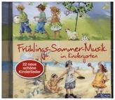 Frühlings-Sommer-Musik für Kinder, 1 Audio-CD