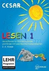 Cesar Lesen 1, 2.-4. Klasse, 1 CD-ROM