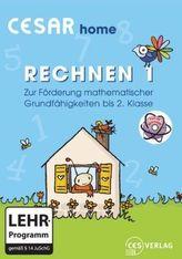 Cesar home Rechnen 1, 1 CD-ROM