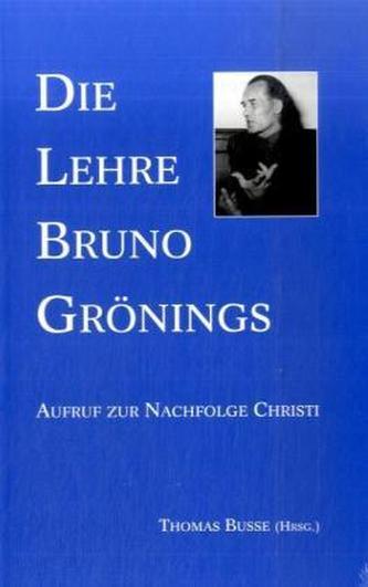 Die Lehre Bruno Grönings