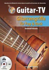 Guitar-TV, Gitarrengriffe für Pop & Rock, m. DVD
