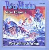 Perry Rhodan, Silber Edition - Vorstoß nach Arkon, 12 Audio-CDs