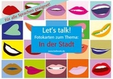 Let's Talk! Fotokarten 'In der Stadt'