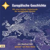 Europäische Geschichte, 5 Audio-CDs