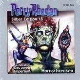 Perry Rhodan, Silber Edition - Hornschrecken, 12 Audio-CDs