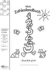Mein Zahlenlandbuch. Bd.1