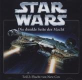 Star Wars, Die Dunkle Seite der Macht - Flucht von New Cov, 1 Audio-CD
