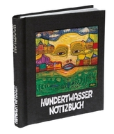 Hundertwasser Notizbuch, Motiv 'Irinaland über dem Balkan'