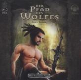 Das Schwarze Auge - Der Pfad des Wolfes, 2 MP3-CDs