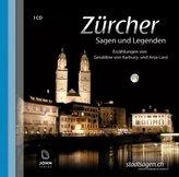 Zürcher Sagen und Legenden, 1 Audio-CD