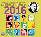 Das grosse Jahreshoroskop 2016, 2 Audio-CDs