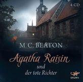 Agatha Raisin und der tote Richter, 4 Audio-CDs