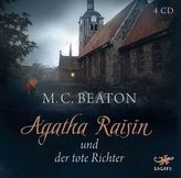 Agatha Raisin und der tote Richter, 4 Audio-CDs
