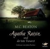 Agatha Raisin und der tote Tierarzt, 4 Audio-CDs
