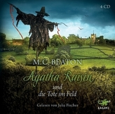 Agatha Raisin und die Tote im Feld, 4 Audio-CDs