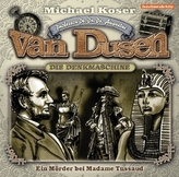 Professor van Dusen - Ein Mörder bei Madame Tussaud, 1 Audio-CD