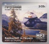 Perry Rhodan Silberedition - Raumschiff in Fesseln, 2 MP3-CDs