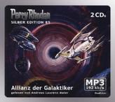Perry Rhodan Silberedition - Allianz der Galaktiker, 2 MP3-CDs