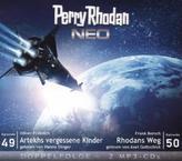 Perry Rhodan NEO - Artekhs vergessene Kinder / Rhodans Weg, 2 MP3-CDs
