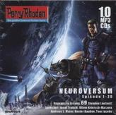 Perry Rhodan Neuroversum, 10 MP3-CDs. Sammelbox.1