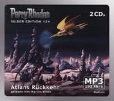 Perry Rhodan Silber Edition - Atlans Rückkehr, 2 MP3-CDs