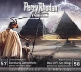 Perry Rhodan NEO - Epetrans Geheimnis / Das Gift des Rings, 2 MP3-CDs