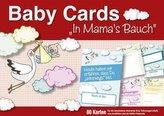 Baby Cards 'In Mama's Bauch', Erinnerungskarten